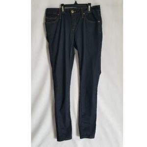 Zara Basic Dark Blue Wash Jeans